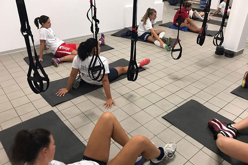Castellone torna al lavoro ieri prima seduta d 39 allenamento - Allenamento kick boxing a casa ...